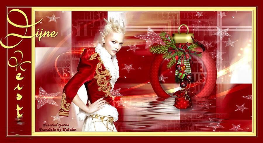 Tutorial Psp Magnifique ~ Fijne Kerst