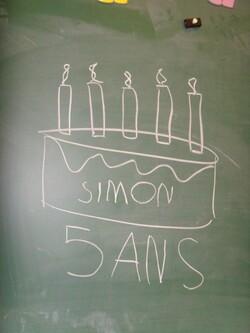 Anniversaire de Simon