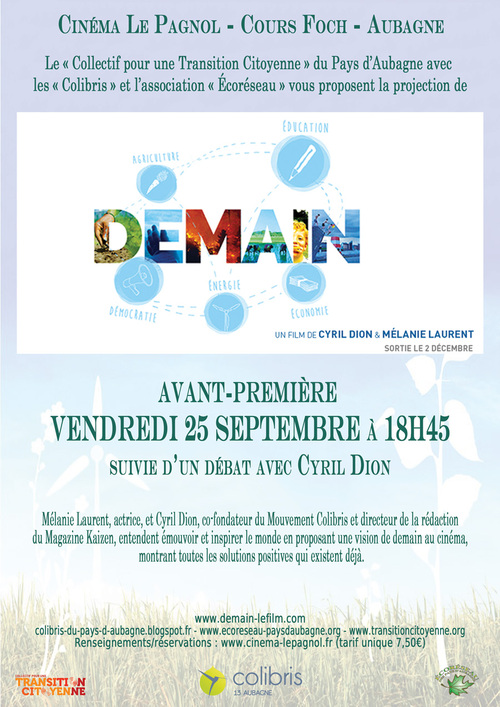 Transition citoyenne 2015 : Demain