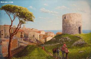 Alain Benedetto Peintre Provençal