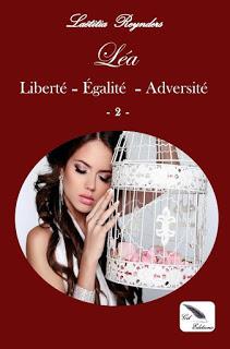 """découvrez la couverture du tome 2 de """" Prisonnière d'une cage dorée"""" de L. Reynders"""