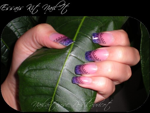 Ongles courts, faux ongles obligés =)