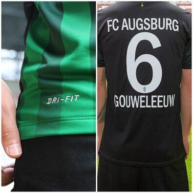 Nouveau Maillot de foot Augsburg Football Club Exterieur 2016 2017 pas cher