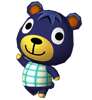 Théo animal crossing WII