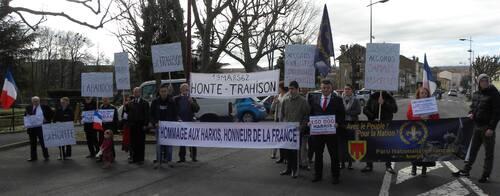 19 mars : contre-manifestation à Issoire (Auvergne)