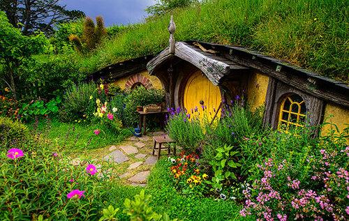 Maisons sorties tout droit de contes de fées