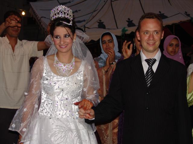 Lors de votre week end à Bruges, Sébastien et Najoua se sont mariés au Maroc