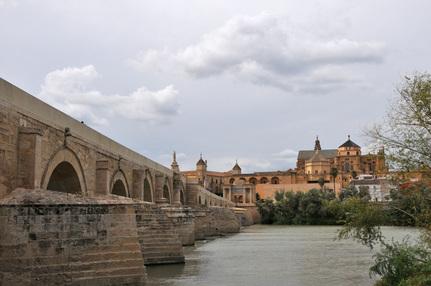 Cordoue, Pont romain et Mezquita