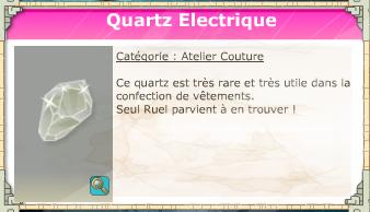 quartz electrique
