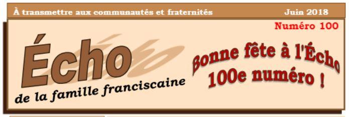 Bulletins de la Famille Franciscaine - SIAF