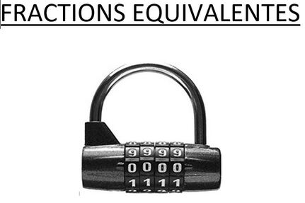 Escape game - fractions