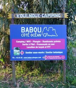 Panneau d'entrée chez Babou Côté Océan - Cliquer pour agrandir