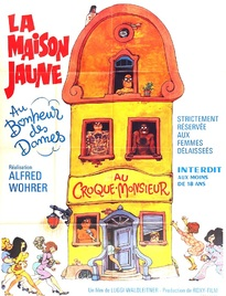 LA MAISON JAUNE BOX OFFICE FRANCE 1971