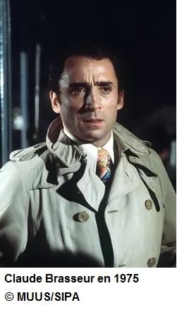 Claude Brasseur en 1975