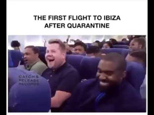 FIRST FLIGHT AFTER CORONA VIRUS  (Humour)