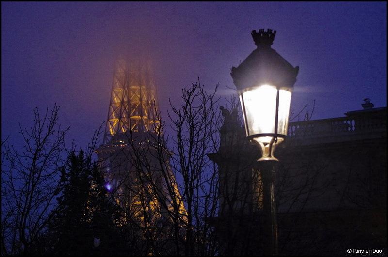 La nuit parisienne
