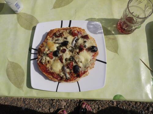 Une pizza par personne