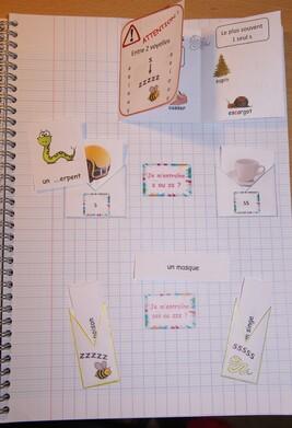 s ou ss cahier interactif