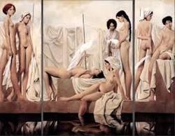 PEINTURE  les tableaux hyper réalistes de LOUIS TRESESRRAS