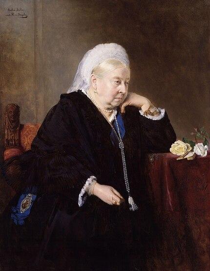 La reine Victoria s'arrête à Valence le temps d'un dîner