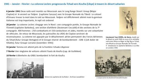 * Ephéméride : le général de Gaulle et la France Libre (1940-1943) -  L'Année1941