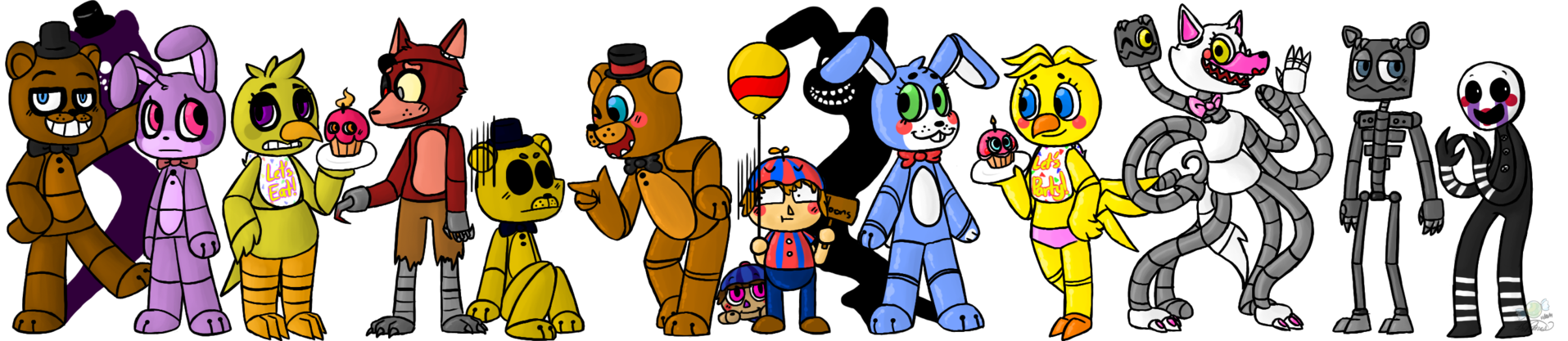 Free five night at freddys 3 coloring pages