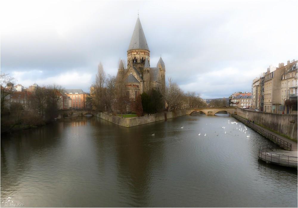 Metz (Fr-57) ~ Le Temple Neuf ...