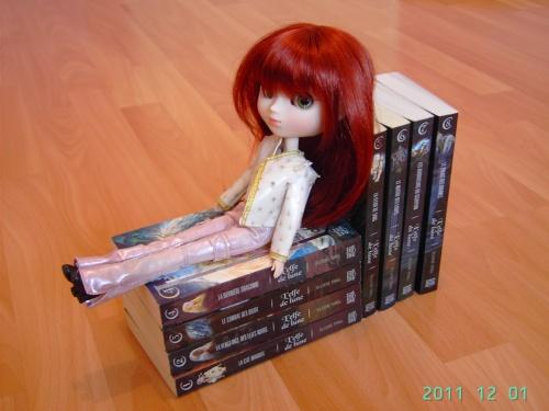 7) Les livres