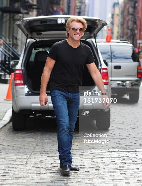 JON BON JOVI YESTERDAY IN NEW YORK SEP 10/2012