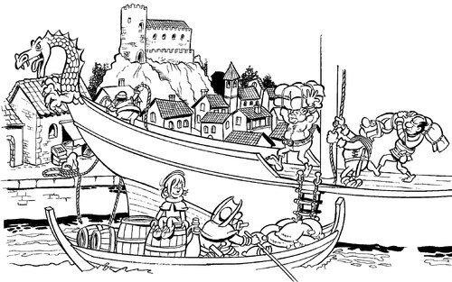 Le port de Gruissan en 937