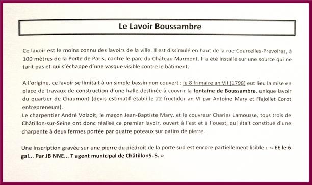 Pour les Journées du Patrimoine, les habitants de Châtillon sur Seine ont pu consulter des documents patrimoniaux sur l'eau dans la ville...