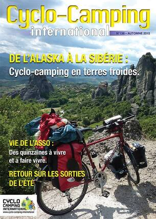 Cyclo-Camping International # 136 - revue automne 2015