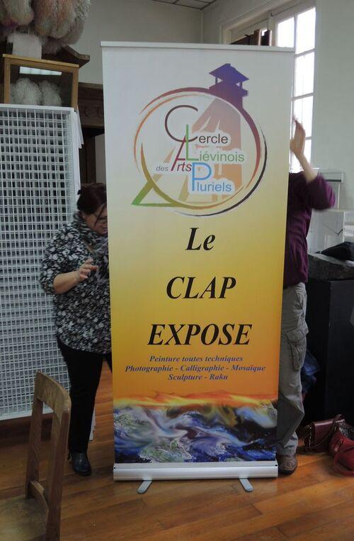 """""""Visions d'Artistes"""" Exposition de mai au CLAP de Liévin"""