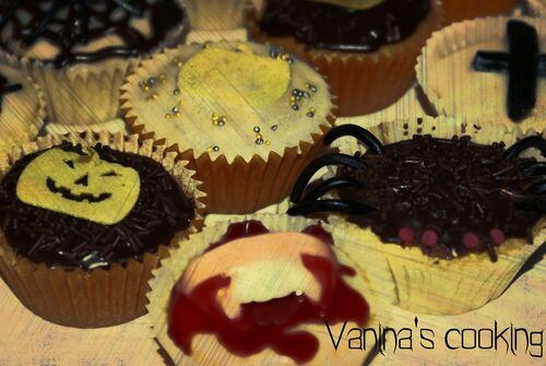 Happy Halloween !!! Ma recette de cupcakes terrifiant !