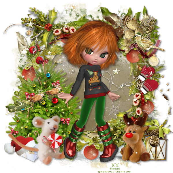 "Tutoriel ""Magic of XMas"" de Josie psp"
