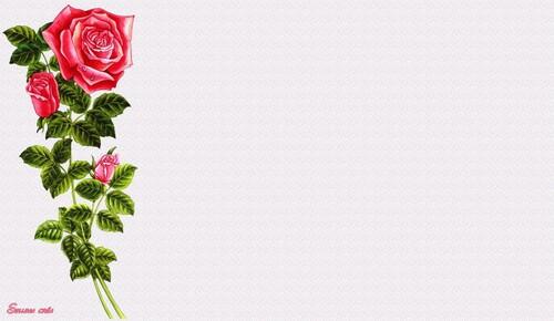 Papiers à lettres**Frises fleuries**