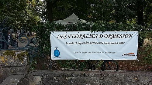le château d'Ormesson - Journée du patrimoine