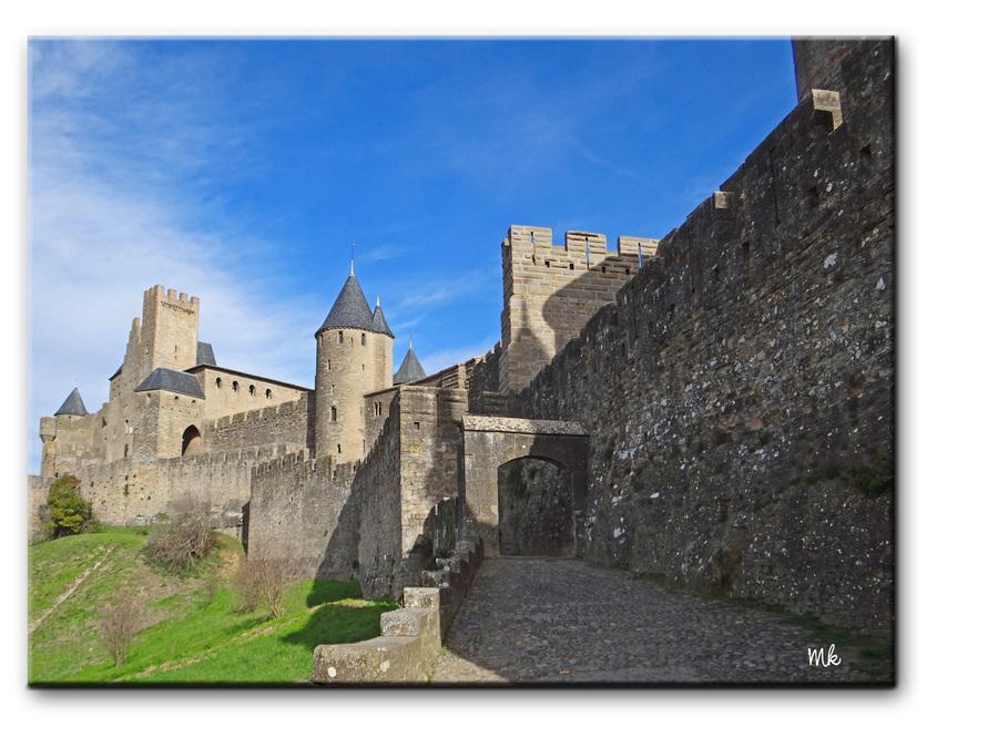 Un pti tour à la Cité de Carcassonne...