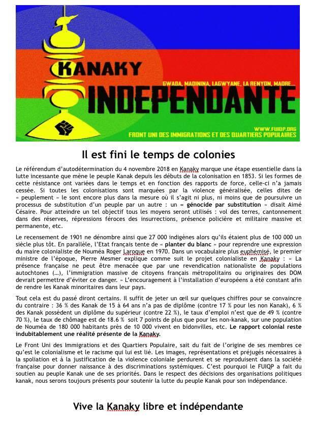 #Kanaky #Rassemblement #TolosaToulouse