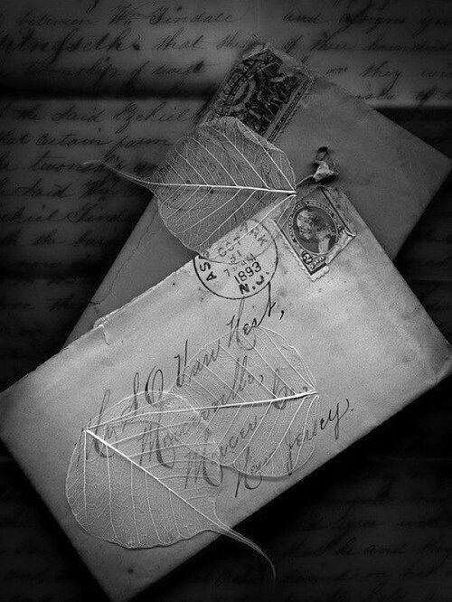Lettre à sa bien aimé