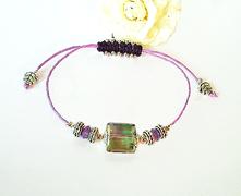 - Bracelet Cristal / Macramé
