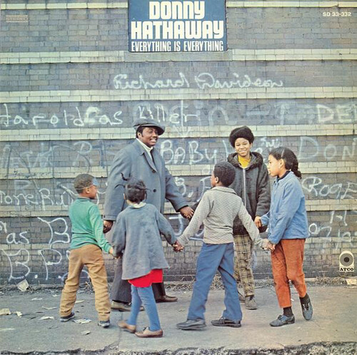 "Donny Hathaway : Album "" Everything Is Everything "" Atco Records SD 33-332 [ US ]"