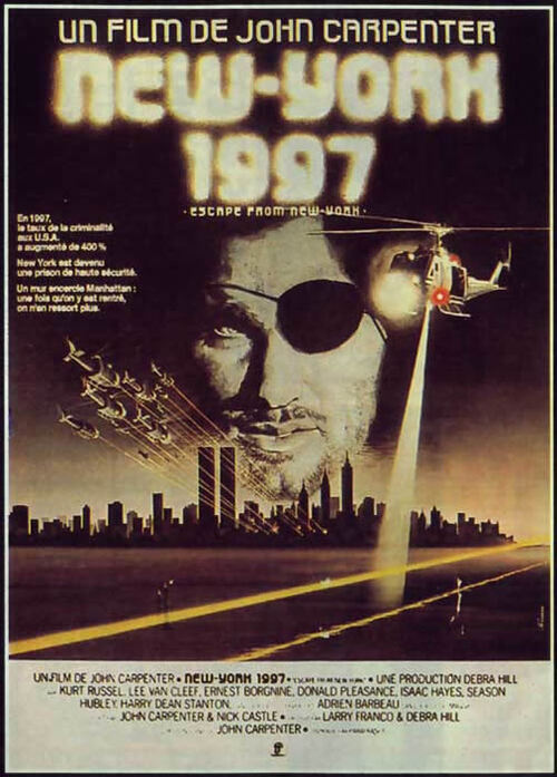NEW YORK 1997 - BOX OFFICE JOHN CARPENTER 1981