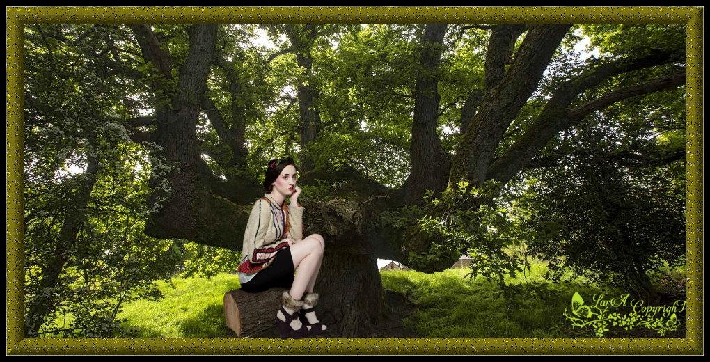 """A l'ombre de mon arbre"""" histoire de Lara"""