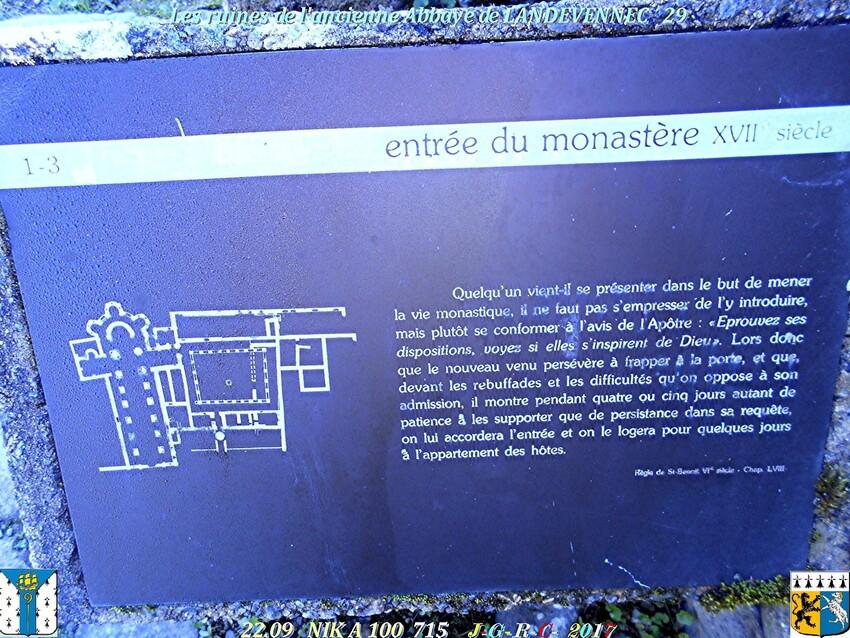 Ancienne  Abbaye 4/4  de  LANDEVENNEC  29      D    21/02/2019