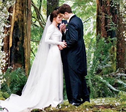 image du mariage twilight breaking dawn