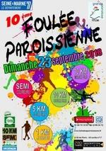 """- Compte-rendu """"FOULEE PAROISSIENNE"""" du C.S.Monereau"""