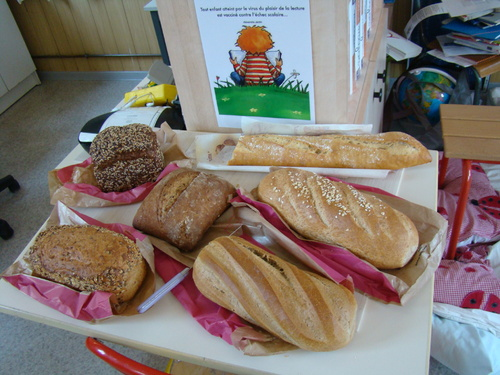 quelques photos de nos pains et des moulins