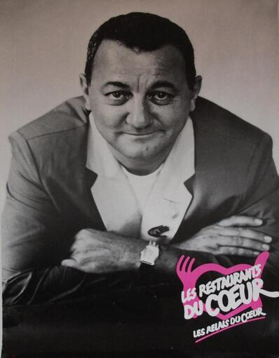 hommage a Coluche