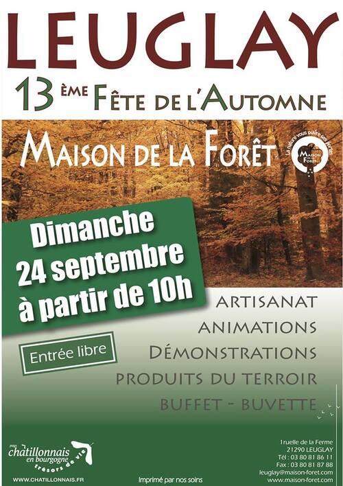 La Fête de l'Automne aura lieu le 24 septembre 2017